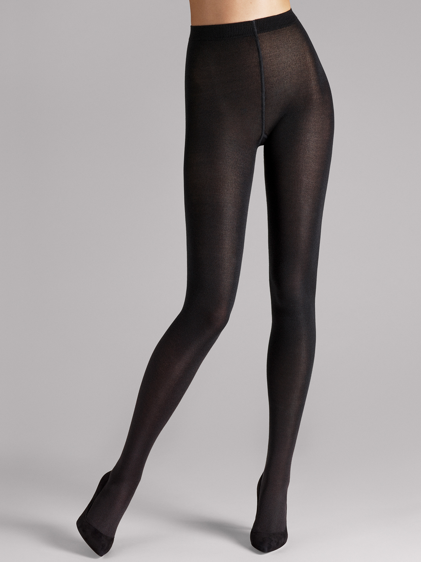 Cashmere/Silk Tights - 7005 - M