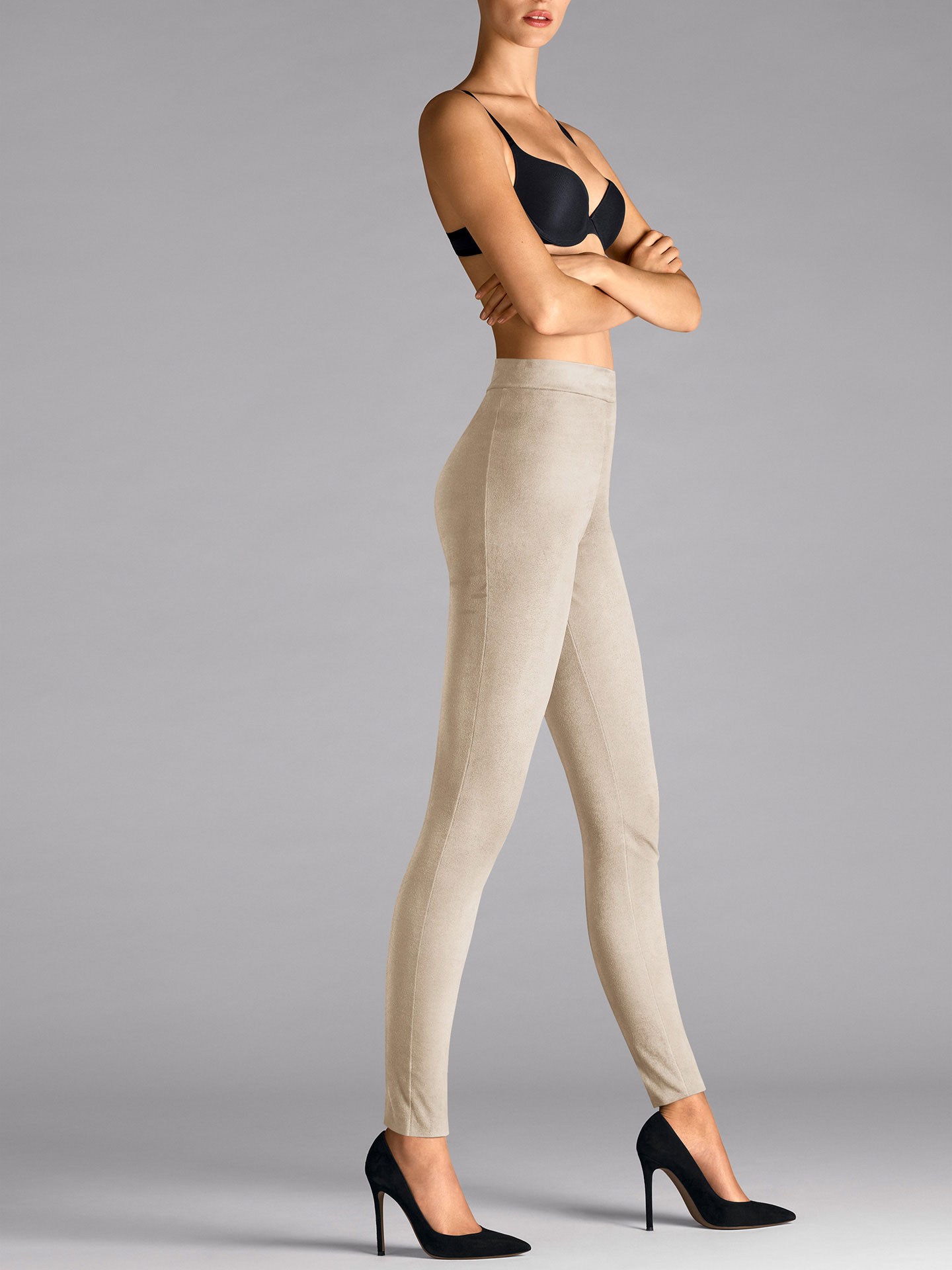 Velour Leggings - 8544 - 38