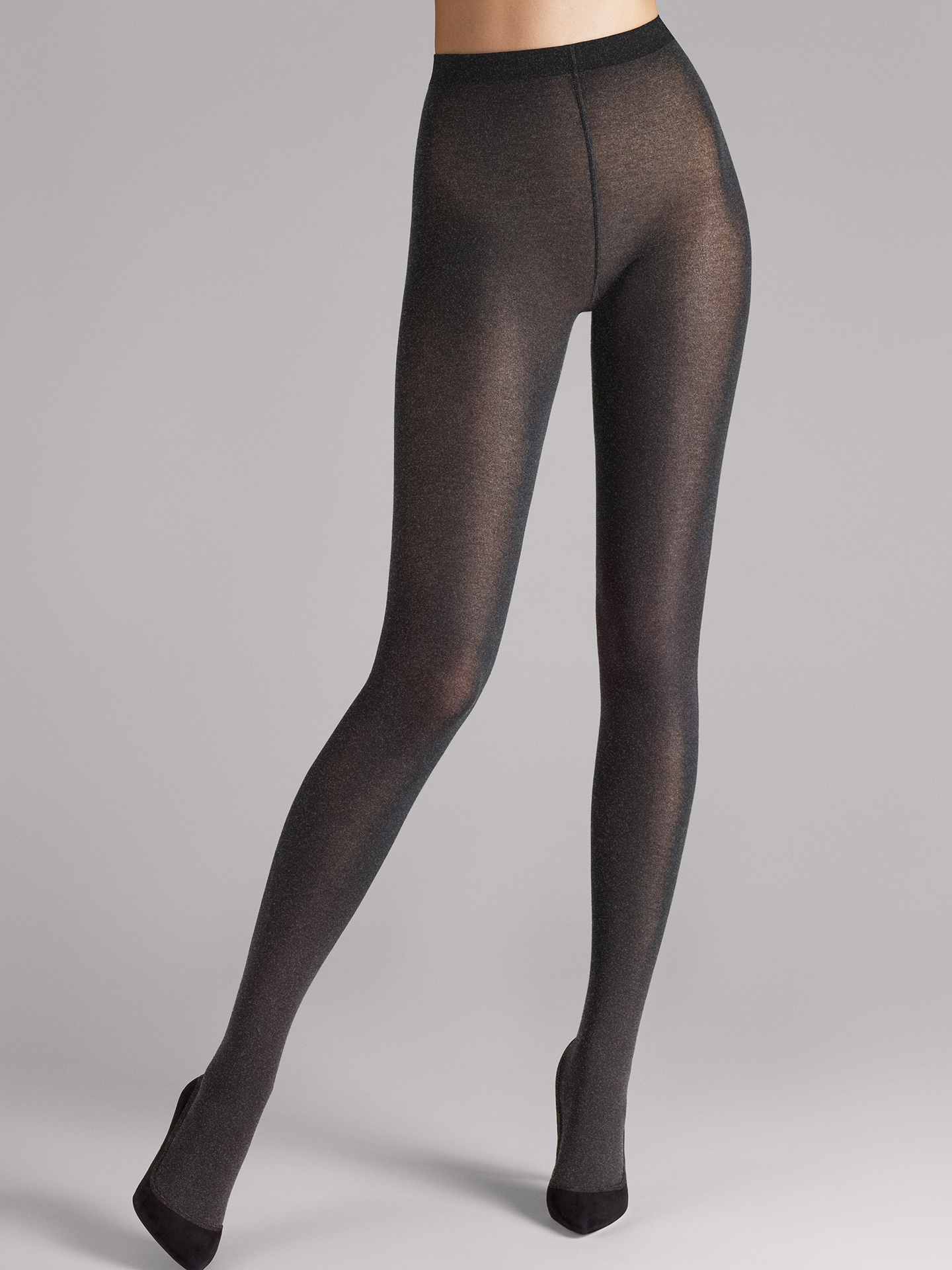 Cotton Velvet Tights - 8026 - M