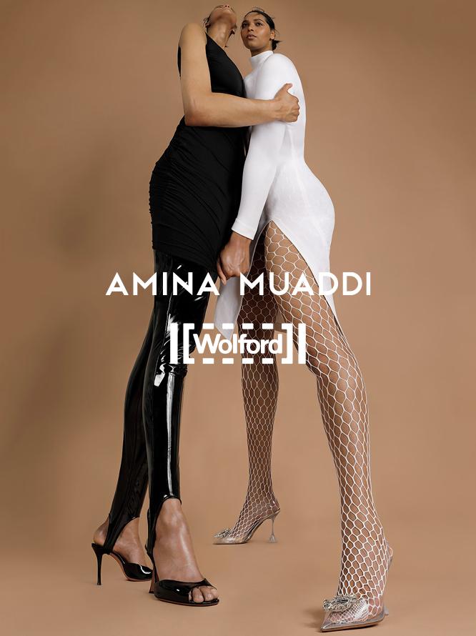 Amina Muaddi x Wolfrdo
